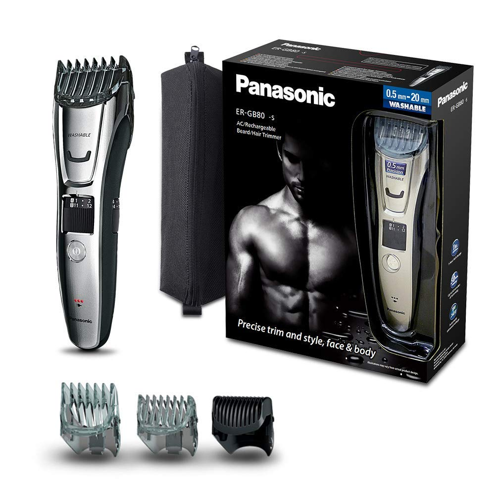 Panasonic ER-GB80 Rechargeable Trimmer